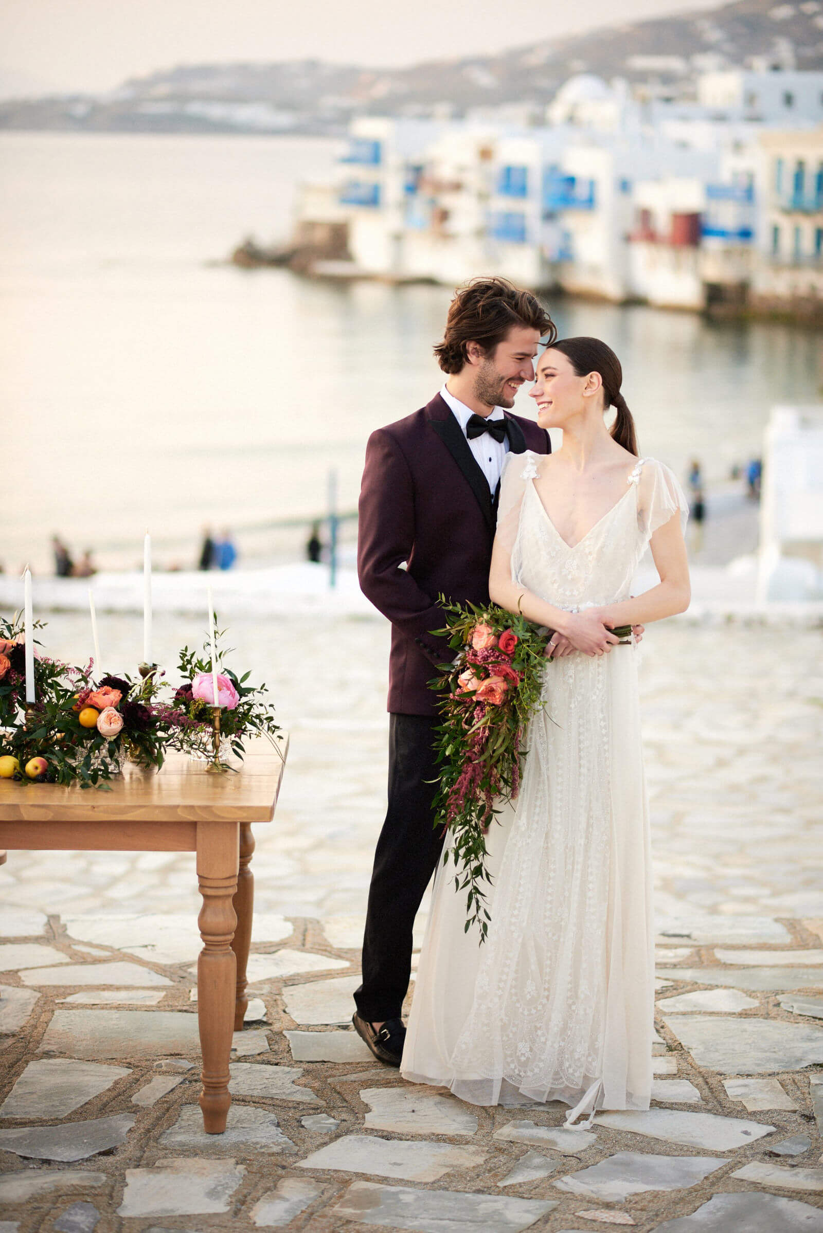 WEDDING EDITORIAL IN MYKONOS